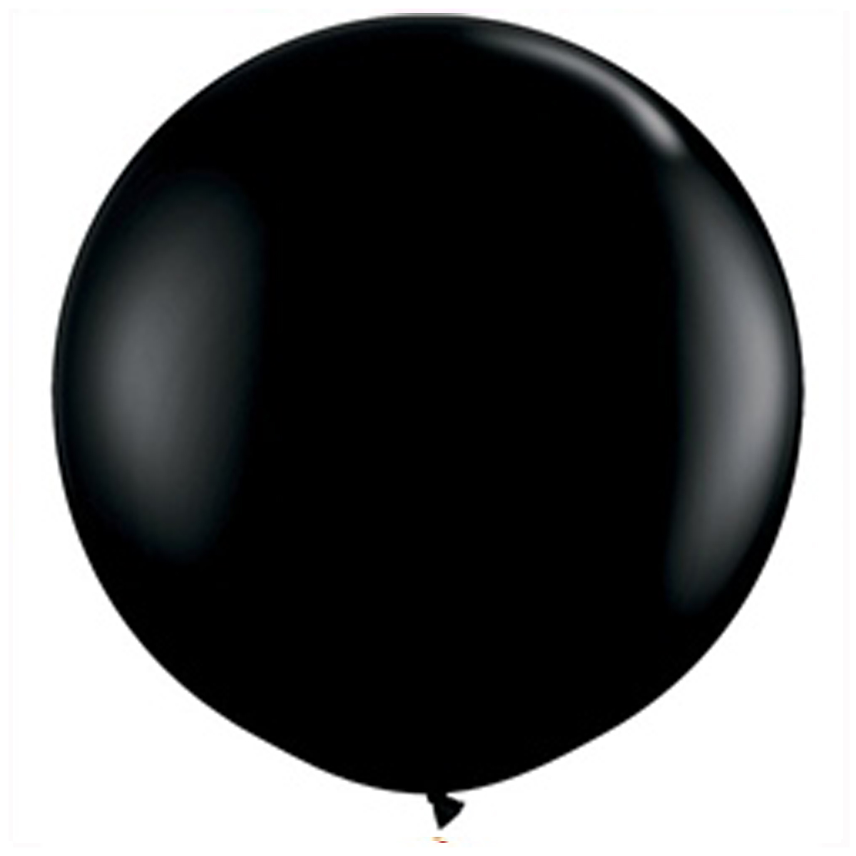 Five baby gender reveal confetti balloon 24 black balloons with